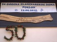 50 godina Planinarskog doma Poklon 12.9.2015.