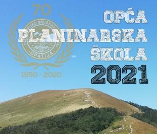Poziv na upis u opću planinarsku školu