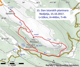 15. Dan istarskih planinara - 15.10.2017.