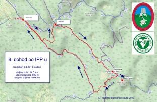 Izlet 8. pohod po IPP-u 10.3.2019.